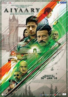 Aiyaary poster2