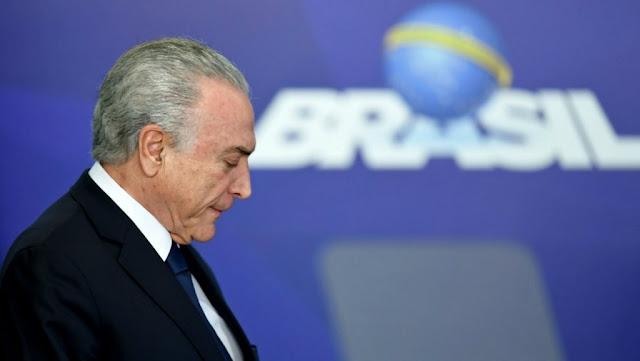 البرازيل: القضاء يأمر بإعادة حبس الرئيس السابق ميشال تامر