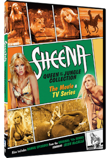 Sheena: Queen of the Jungle Collection DVD Review