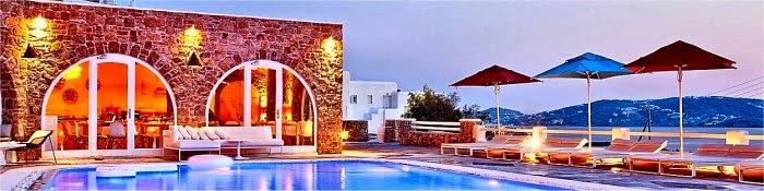 Hotel romantici Mykonos Grecia