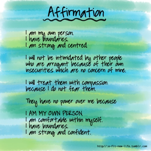 Inspirational Picture Quotes...: Affirmation