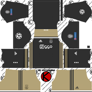 AFC Ajax 2018/19 UCL Kit - Dream League Soccer Kits