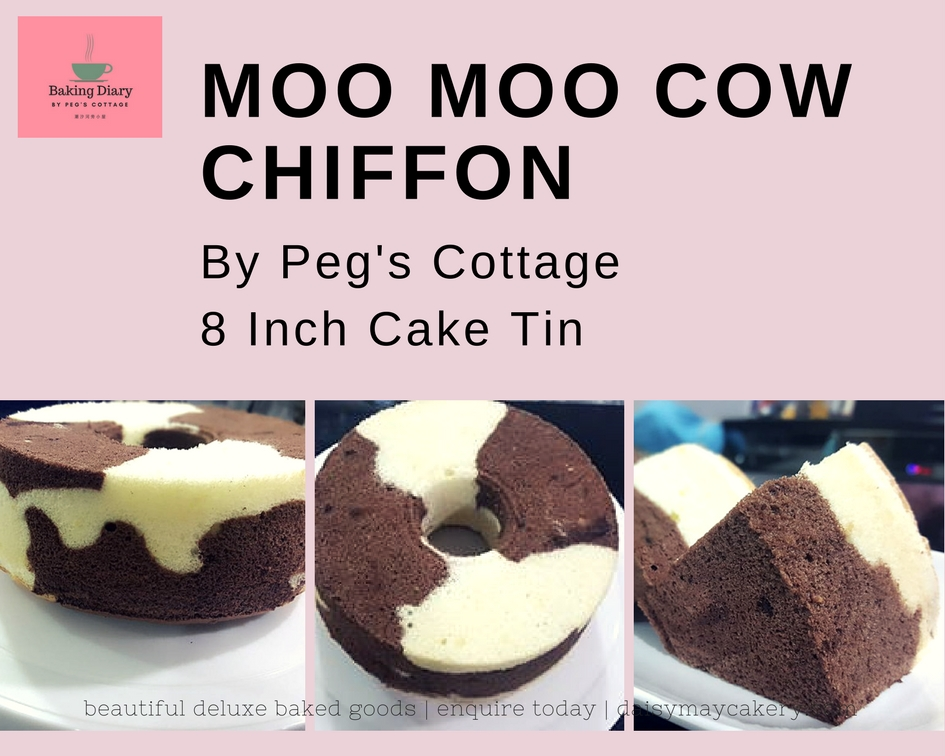 Chiffon Cake Over Beaten Egg White