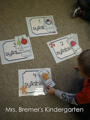 Gingerbread Man math and literacy activities perfect for Kindergarten