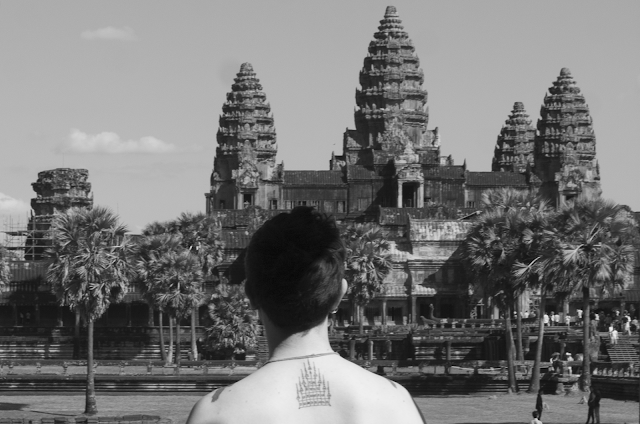 Tattoos, tattoo, ink, wanderlust, Thai, traditional, Philippines, Angkor wat, adventure, hipster, meaningful, stories, New York, Switzerland, Shawshank redemption, birds, old school, 13, Buddhist, Mt Meru, sak yant tattoo, Gao Yord, bamboo tattoo, Whang Od, Mamababatok, Will Hatton, The Broke Backpacker, Goats on the road, Tea Cake Travels, 2 Travel Dads, Slow Spirit, Mostly Amelie!, Where in the World is Nina?, Live, Dream, Discover,