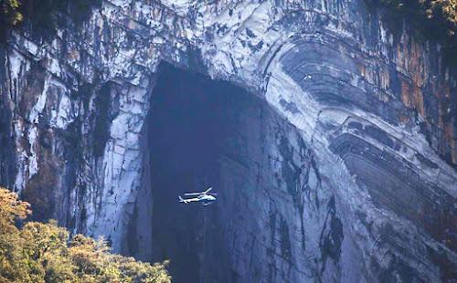 Maior boca de caverna do mundo