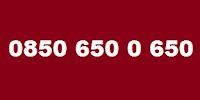 0850 650 0 650 Kimin Telefon Numarası