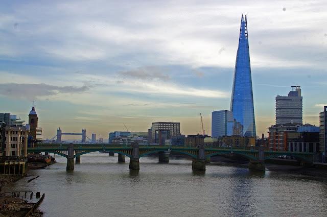 Thames River Shard London
