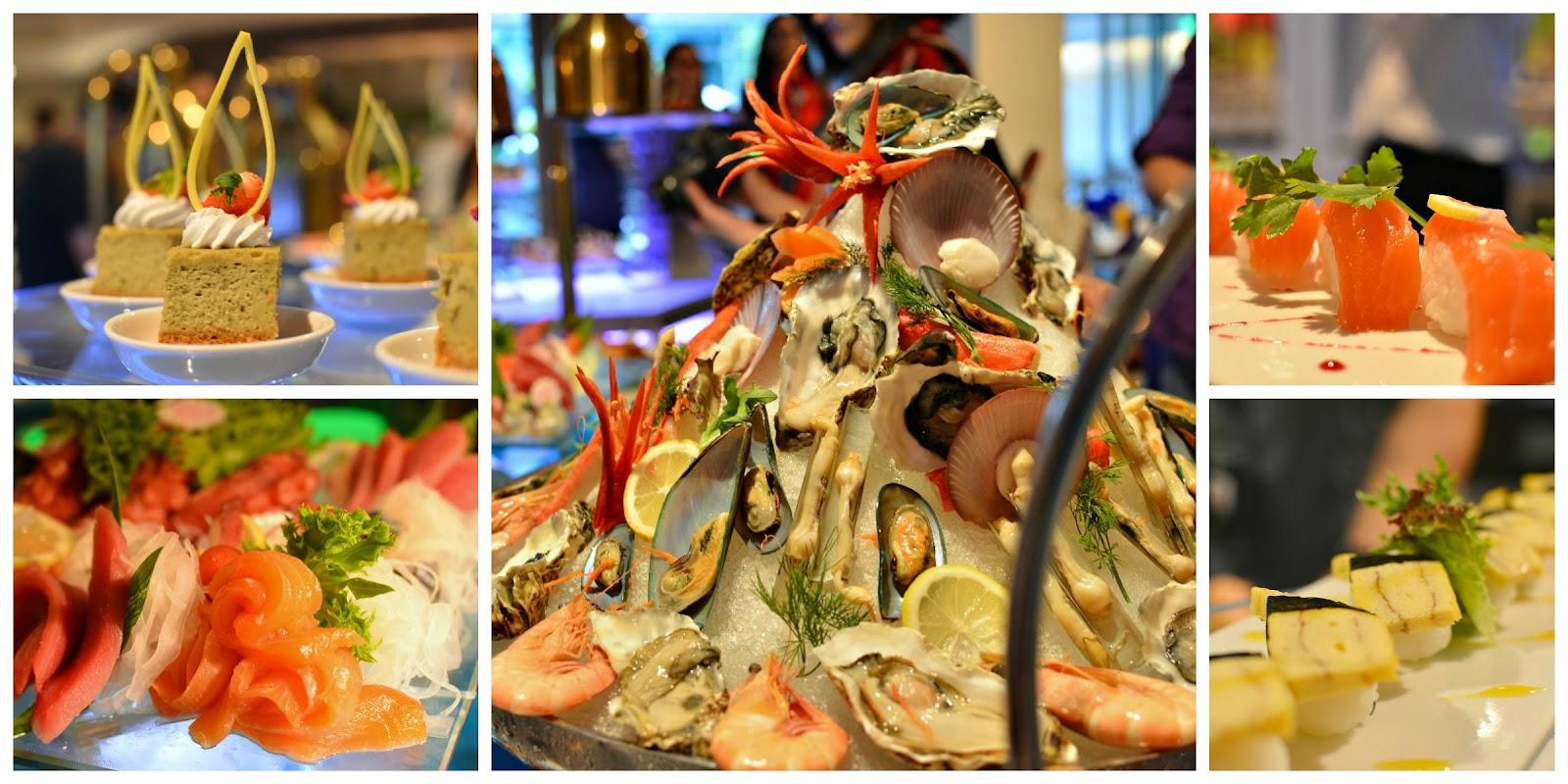 hard rock casino deluxe seafood buffet