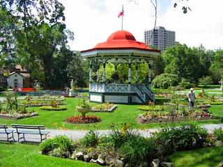 Halifax Public Gardens Bandshell.