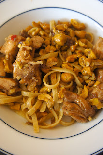 Cashew Chicken with Noodles: Savory Sweet and Satisfying