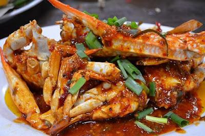 Cara membuat Kepiting Saus Tiram Pedas Nikmat