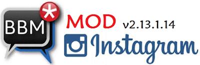 BBM Mod Instagram Apk Terbaru Gratis