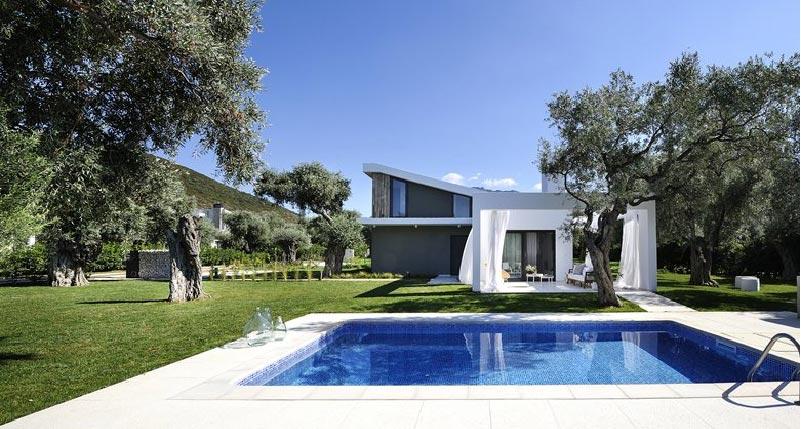 Villa dal design moderno e lineare