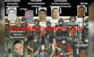 """Identifican a """"El Charmín"""" y su banda de secuestradores en Nuevo Laredo Tamaulipas"""