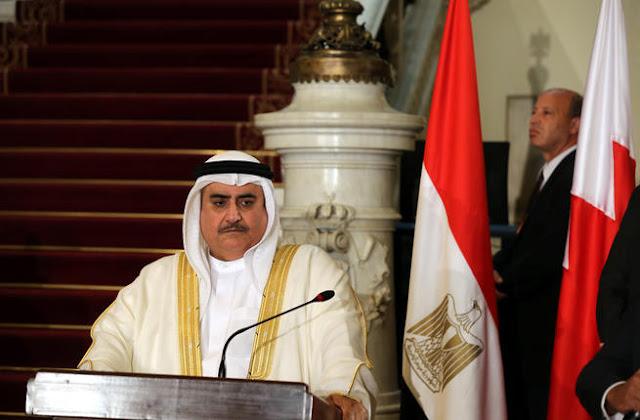 تغريدة مثيرة لوزير خارجية البحرين بشأن قطر