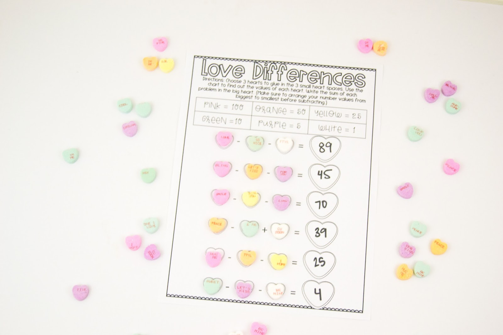 What The Teacher Wants 10 Conversation Heart Activities Your Students Will Love