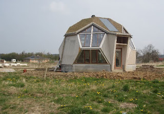 Prefab geodesic dome home