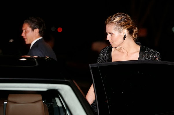 Heidi Klum and Vito Schnabel