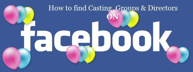Casting groups and casting directors on facebook