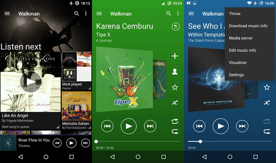 Install Xperia Z5 Walkman APK in all Android Phones (Rooted