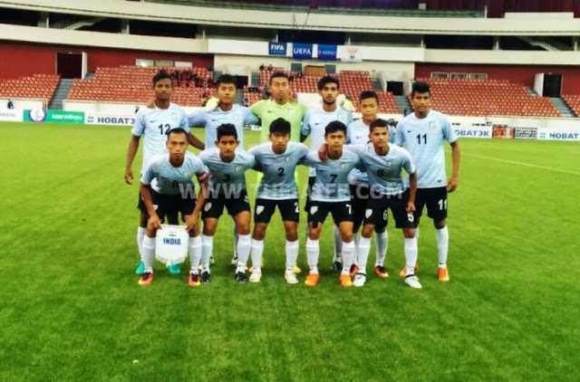 India U-17 World Cup squad - Russia Tour