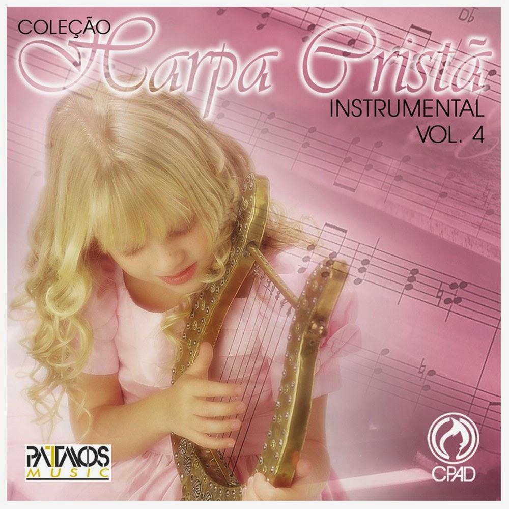 Patmos Music-Coleção Harpa Cristã Instrumental-Vol 4-