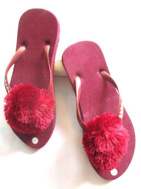 Pabrik Dan Grosir Sandal Bulu - Pompom - Harga Murah