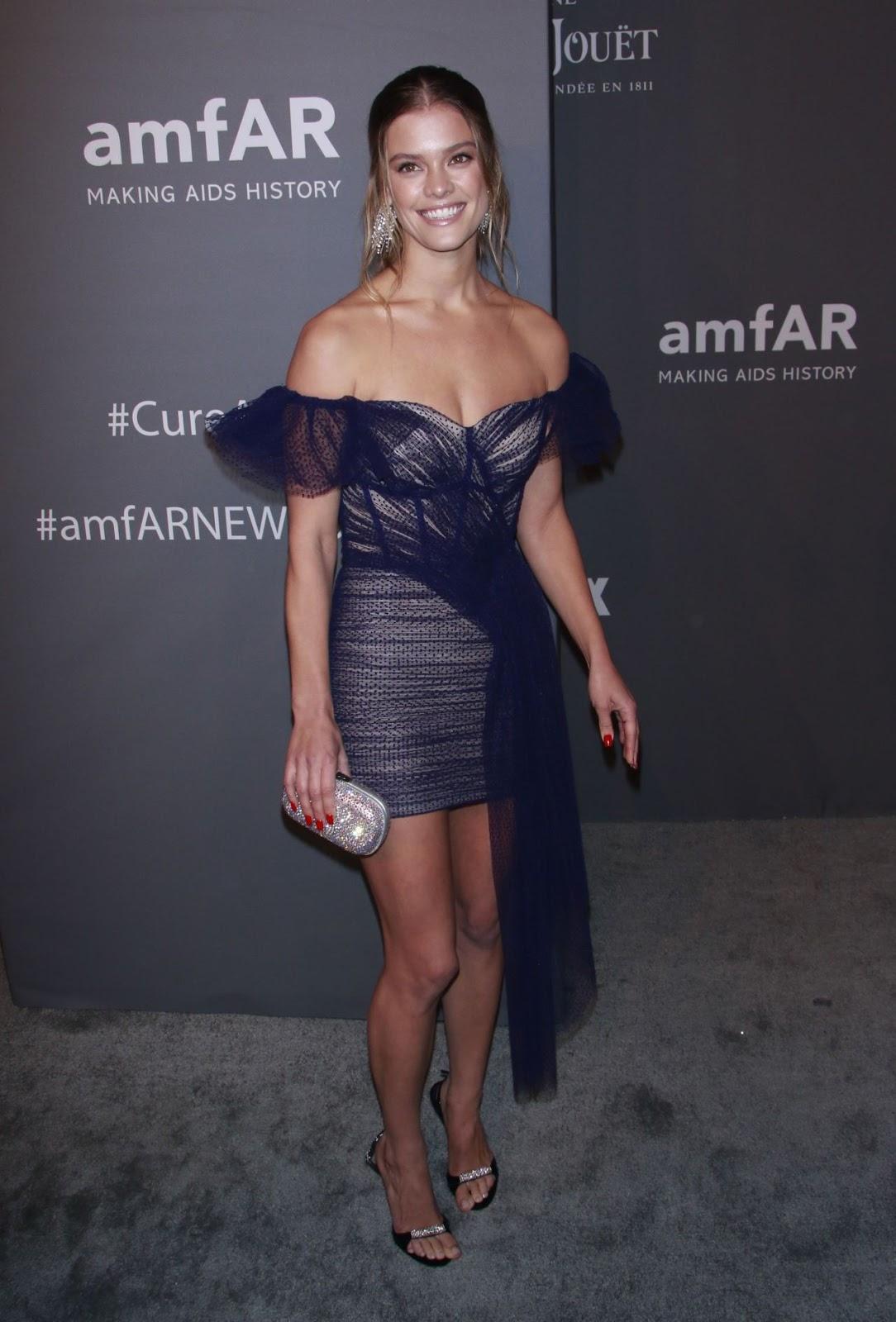 Nina Agdal - amfAR New York Gala in NYC - 02/06/2019