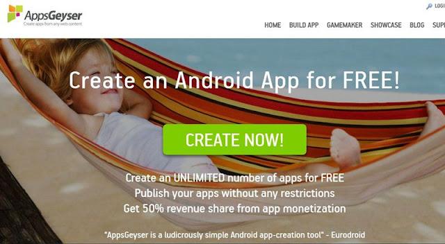 Buat Aplikasi Android Tanpa Koding Dengan 10 Tool Ini