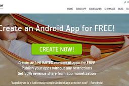 Situs Pembuat Aplikasi Android Tanpa Coding Secara Gratis
