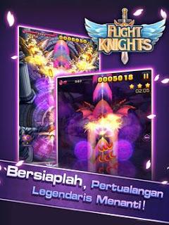 Line Flight Knights Mod Apk Unlocked all item