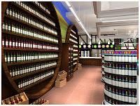 ДИЗАЙН СУПЕРМАРКЕТА КОНТИНЕНТ ВКУСА ДИЗАЙН МАГАЗИНА ПРОДУКТОВ НОВОСИБИРСК NOVOSIBIRSK продуктовый магазин Dulisov design supermarket дизайн-студия интерьер Riteil
