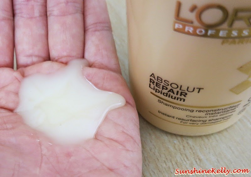 L'Oreal Professionnel Absolut Repair Lipidium, Product Review, Haircare review, haircare, L'Oreal Professionnel, Absolut Repair Lipidium, Solution for damaged hair, L'Oreal Professionel Absolut Repair Lipidium, Instant Resurfacing Shampoo, Instant Resurfacing Masque, Sealing Repair Lipidium, Absolut Primer Repair Lipidium, Thermo Reconstructing Cream, Reconstructing Serum, Instant Reconstructing Conditioner