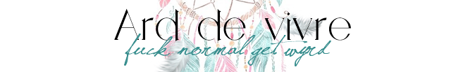Ard de vivre | Alternativer Lifestyle Blog