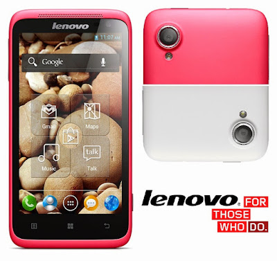 Lenovo S720 Specifications - LAUNCH Announced 2013, January DISPLAY Type IPS LCD capacitive touchscreen, 16M colors Size 4.5 inches (~61.8% screen-to-body ratio) Resolution 540 x 960 pixels (~245 ppi pixel density) Multitouch Yes BODY Dimensions 132.3 x 68.3 x 9.9 mm (5.21 x 2.69 x 0.39 in) Weight 140 g (4.94 oz) SIM Dual SIM (Mini-SIM) PLATFORM OS Android OS, v4.0.4 (Ice Cream Sandwich) CPU Dual-core 1.0 GHz Cortex-A9 Chipset Mediatek MT6577 GPU PowerVR SGX531u MEMORY Card slot microSD, up to 32 GB (dedicated slot) Internal 4 GB, 512 MB RAM CAMERA Primary 8 MP, autofocus, LED flash Secondary 1 MP Features Geo-tagging, touch focus, face detection Video 720p NETWORK Technology GSM / HSPA 2G bands GSM 900 / 1800 - SIM 1 & SIM 2 3G bands HSDPA 2100 Speed HSPA GPRS Yes EDGE Yes COMMS WLAN Wi-Fi 802.11 b/g/n, hotspot NFC No GPS Yes, with A-GPS USB microUSB v2.0 Radio FM radio Bluetooth v2.1, A2DP, EDR FEATURES Sensors Accelerometer, proximity Messaging SMS(threaded view), MMS, Email, Push Mail, IM Browser HTML Java No SOUND Alert types Vibration; MP3, WAV ringtones Loudspeaker Yes 3.5mm jack Yes BATTERY  Removable Li-Ion 2000 mAh battery Stand-by  Talk time  Music play - MISC Colors Pink, White  - MP4/WMV/H.264 player - MP3/WAV/WMA/eAAC+ player - Photo/video editor - Document viewer