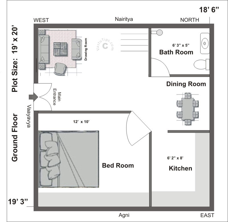Kitchen Layout As Per Vastu Shastra: Blank Sapce Interiors: July 2015
