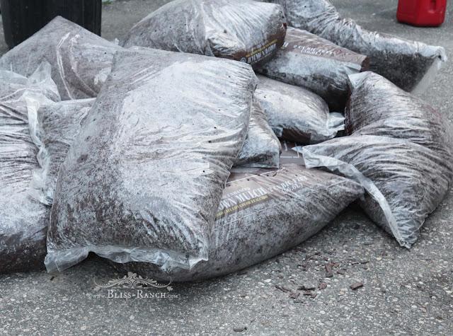 Bags of Mulch