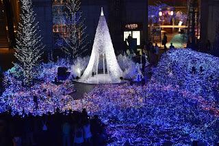 Pohon Natal Di Tokyo, Jepang