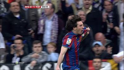 LFP-Week-31 Real Madrid 0 vs 2 Barcelona 10-04-2010