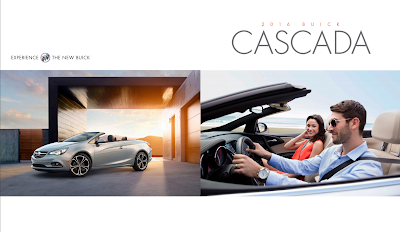 Downloadable 2016 Buick Cascada Brochure
