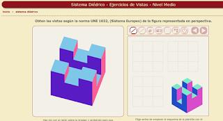 http://www.educacionplastica.net/3dcube_model/vistas_3d_3x3.html
