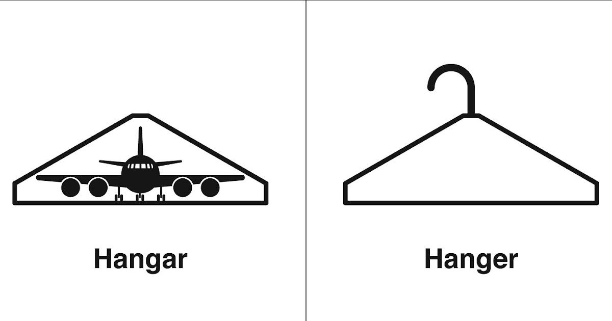 Homophones, Weakly: Hangar & Hanger