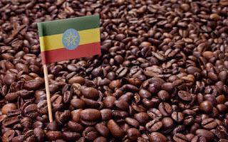 Café con bandera