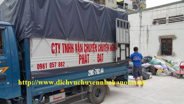 xe tải chuyển vp