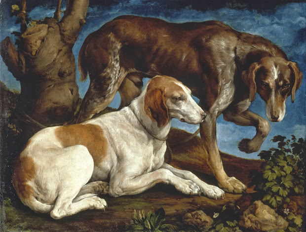 Hunting Dog Paintings