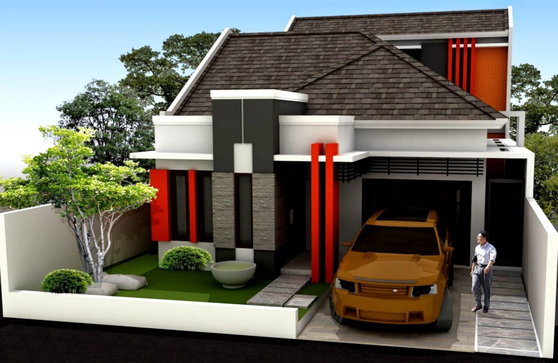 69 Desain Rumah Minimalis Ukuran Tanah 50 Meter Desain Rumah