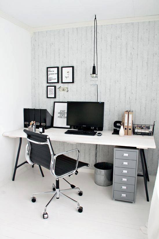 19 Idea Hias Mini Office/ Bilik Bacaan di Rumah ~ Wordless Wednesday