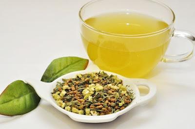 hình ảnh trà genmaicha