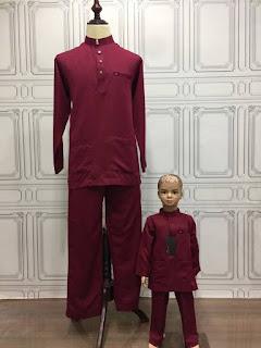 baju melayu bapa anak murah